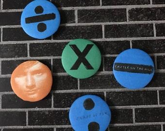 Ed Sheeran | Button/Pinback/Badge
