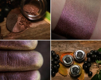 Eyeshadow: Adept from Plum Grove - Druidess. Muted plum satin eyeshadow by SIGIL inspired.