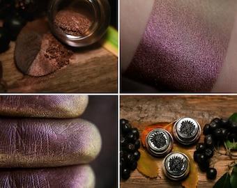 Eyeshadow: Adept from Plum Grove - Druidess. Muted plum satin eyeshadow by SIGIL inspired.