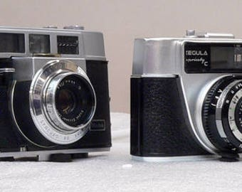 Vintage 4 Piece Rangefinder Camera Collection