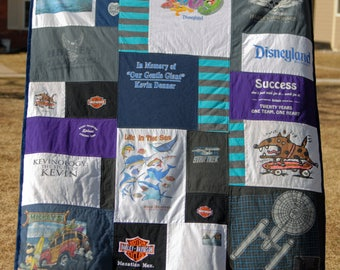 T Shirt Quilt - Throw