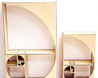 Fibonacci Sequence Curio Shelf