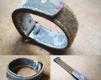 Digi Camo Cordura Canvas Velcro Strap