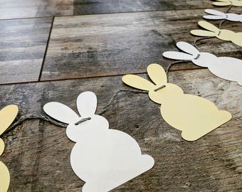 6ft Paper 'Bunnies' Garland | Bespoke : Choice of Colours Available