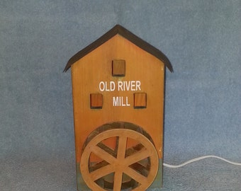 Accent Lamp - Old River Mill - Nightlight