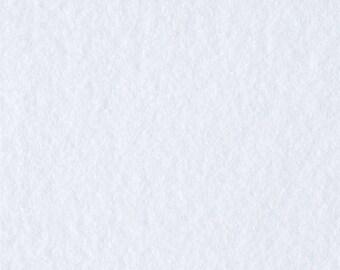 1.8yd Anti-Pill Fleece in White