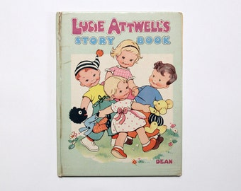 Vintage hardback book: Lucie Attwell's Story Book, Dean & Son Ltd