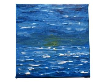 Mini paesaggi marini dipinti in acrilico di di shoplayoutlines for Paesaggi marini dipinti