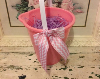 Personalized Easter pail