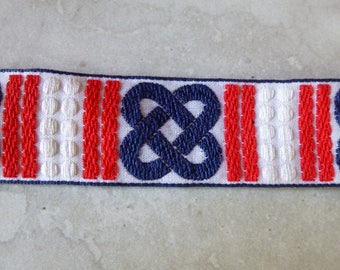 Red, White and Blue Trim