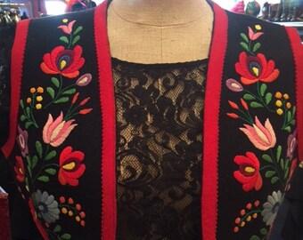 Eastern Floral Vest