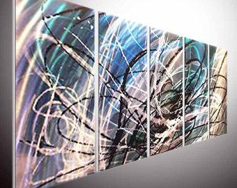 Original Metal Wall Art Modern 3D Painting Sculpture Indoor Outdoor Decor Modern Painting Sculpture wall