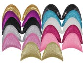 """You Pick Colors - 2.5"""" Unicorn or Cat Ears - Just the Ears - Craft Supply - EAR"""