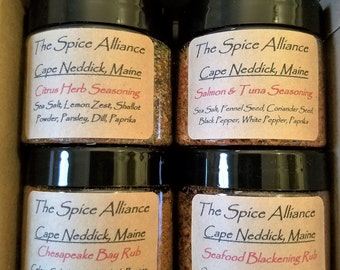 Seafood Lovers Seasonings and Rubs