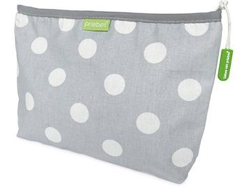Diaper bags MARIECHEN grey polka