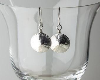 Sterling-Silver Seed Head Dangle Earrings