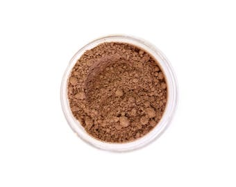 Warm Maple - Natural Mineral Foundation - Medium Tan Nuetral Tone Foundation - Vegan Cosmetics