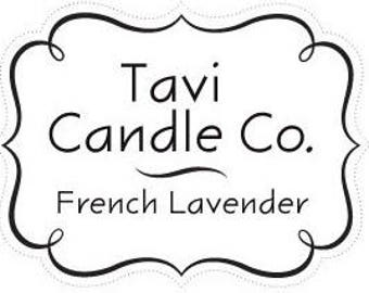 French Lavender Scented Candle