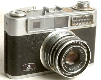 Retro Rangefinder Tower 57A 35mm Film Camera, Vintage Rangefinder, Vintage Tower Camera C1009