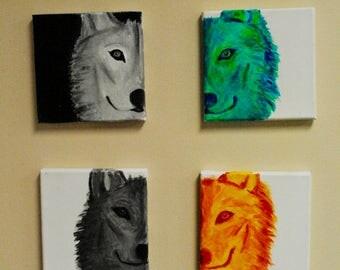 Mini Wolf Set
