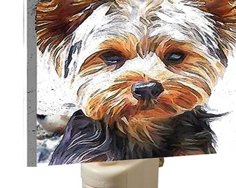 Yorkshire Terrier 'Lupis' - - Night Light From Doggylips