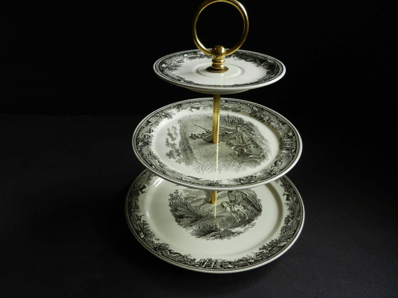 Villeroy and boch artemis etagere vitro porcelain 80s for Villeroy boch granada