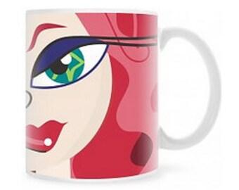 Fashion Illustration • Signature Classic Redhead 11oz. Mug