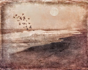 A Walk On The Beach - Print ***Instant Digital Download***
