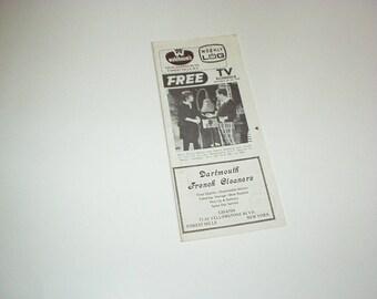 1978 New York Weekly TV Log on MARY Tyler MOORE w/James Hampton, Melissa Gilbert w/Matthew Laborteaux, Kim Basinger w/Tab Hunter, Store Ads+