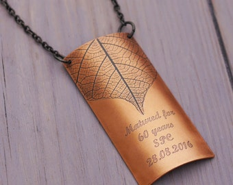 Copper Decanter Label