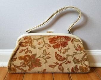 PRICE REDUCED! Vintage Carpet Bag