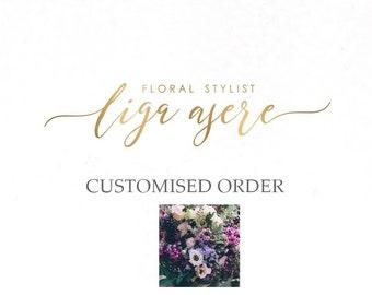 Customized order/ deposit Michelle