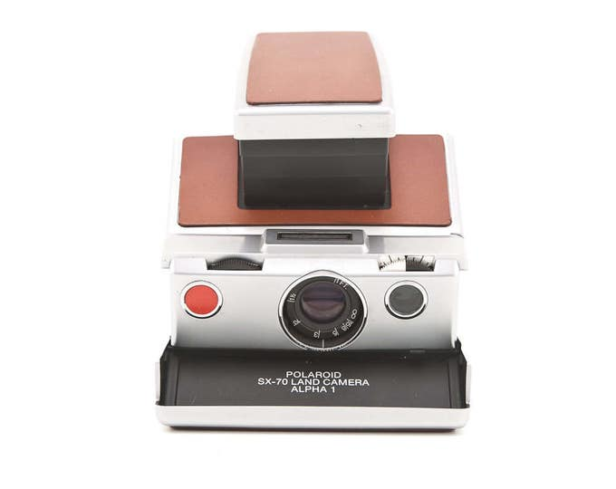 Featured listing image: Polaroid SX70 Land Camera Alpha 1 - Film Tested - Guaranteed Working Polaroid SX-70