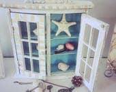 Display Cabinet, Wooden See Shore Cabinet, Display Case, Child Display shelf, Nursery Room display shelf.
