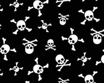 Treasure Island Skull and Crossbones by Nutex Fabrics