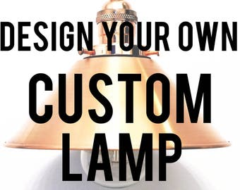 Design Your Own Custom Pipe Lamp!