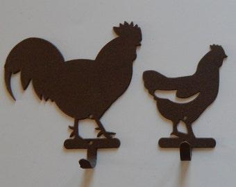 Rooster,chicken, hen,wall hook,Farm house decor,chicken wall hook,hen,wall hook,farm house wall decor,rooster decor,chicken decor