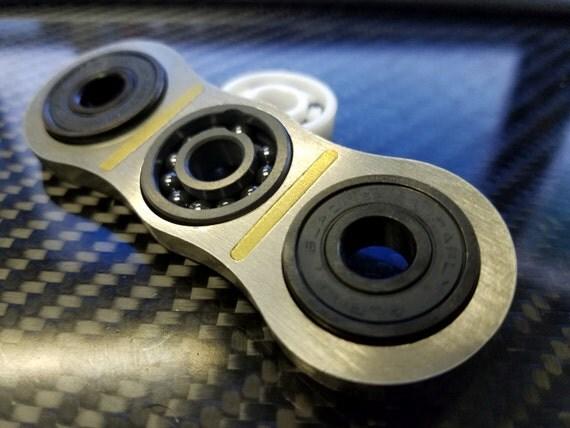 EDC Stainless/Brass Fidget spinner