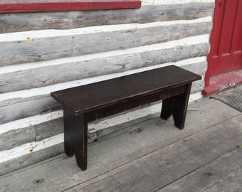 Country Bench / Cottage Bench / Entryway Bench