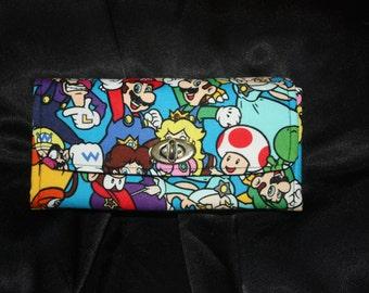 Nintendo All Stars Necessary Clutch Wallet