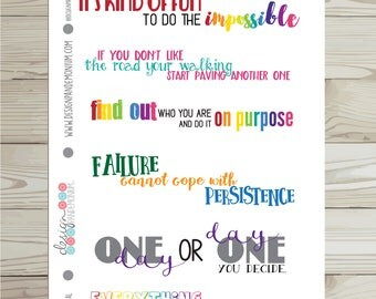 Quotes - Monthly Inspiration