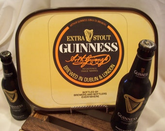 Guinness Extra Stout Beer Tray, Advertising,Brewed in Dublin and London,Arthur Guinness