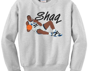 Throwback Shaquille O'Neal Graphic Crewneck Sweatshirt