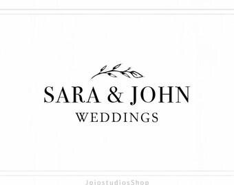 Photography Logo - Wedding Photography Logo - Elegant Logo Design - Watermark