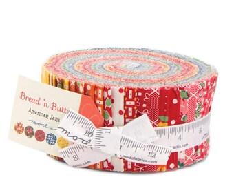 Moda Bread N Butter American Jane Jelly Roll 42 Fabric 2.5 inch Strips
