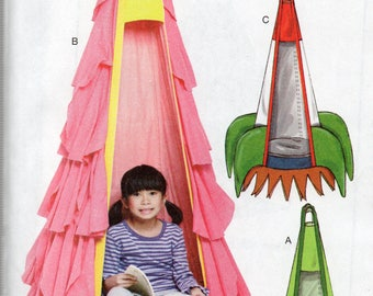 McCall's Crafts Pattern 7614 CHILD'S HANGING SEATS
