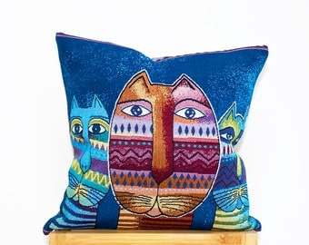Decorative Cushion Cover, Wowen Pillow Case, Tapestry, Multicolor Cushion Cover (16x16in - 40x40cm) for Home Decor