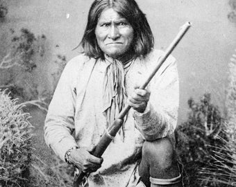 Geronimo, Native American Indian Chief, Apache, Photo