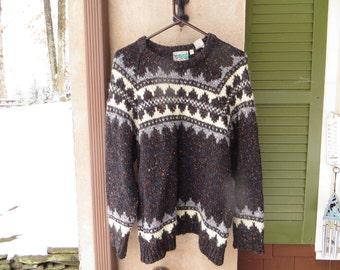 Men's wool pullover