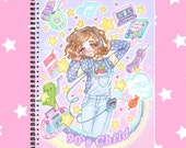 90's fairy kei sketchbook note book